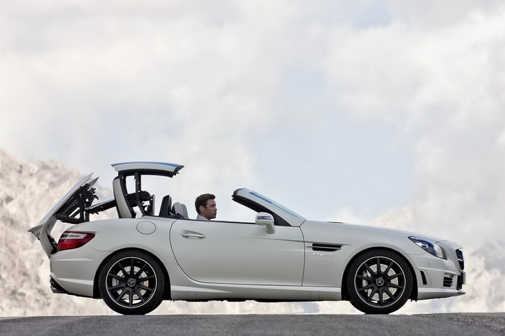 """This is my """"grown-up"""" car.  mercedes SLK AMG (2012 shown)"""