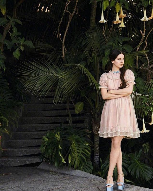 Lana Del Rey for Grazia France Magazine 2017