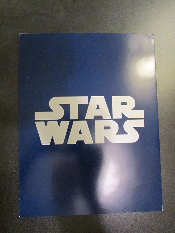 Star Wars Episode IV: A New Hope Program 4 Pages  8 1/2