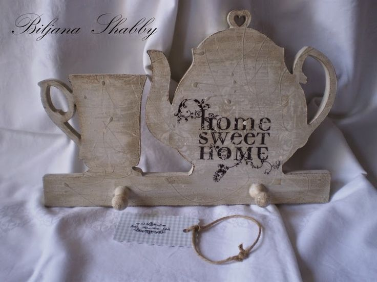 Vintage hanger for kitchen