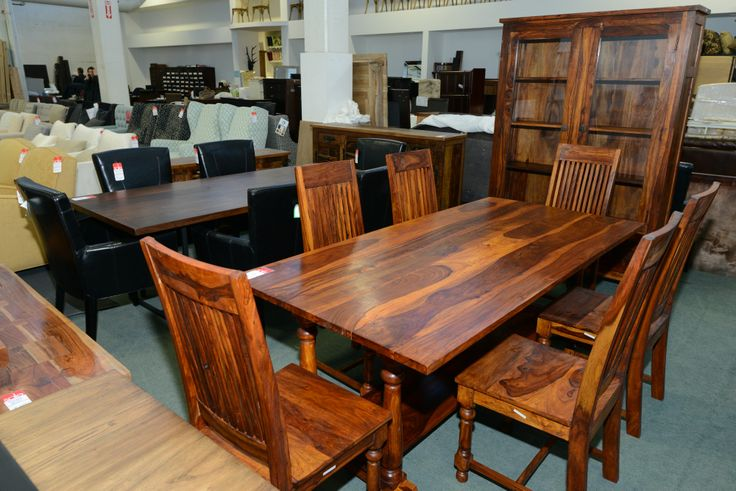 Polished Dining Table -Chair for 6  GH Johnson Furniture