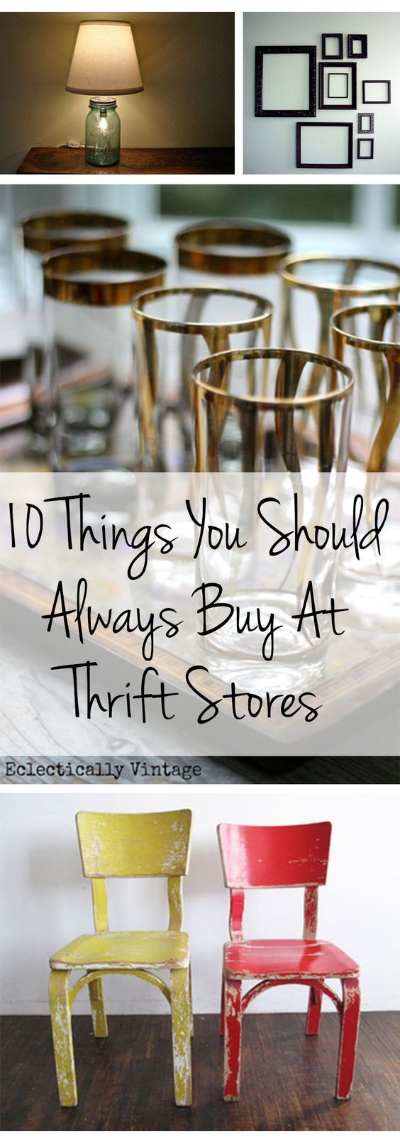 10 Things You Should Always Buy At Thrift Stores - Make a list of these items plus others that you may specifically need and take it with you when you shop Goodwill! www.goodwillvalleys.com/shop/