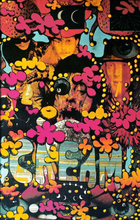 Cream by Martin Sharp (1967)