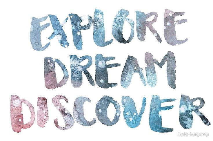 Explore Dream Discover von lizzie-burgundy