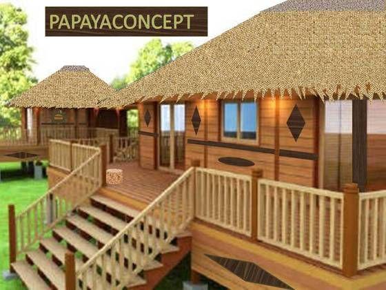 bungalows lodges and villas on pinterest. Black Bedroom Furniture Sets. Home Design Ideas