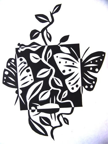 Butterflies & Leaves Jennifer Gould Designs Grass Monster Jennifer Gould Designs www.Je...