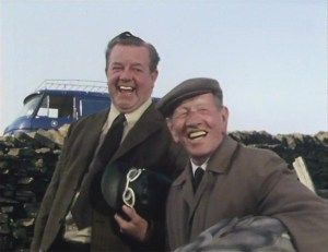 Last of the Summer Wine - Episode 37: Here We Go Again Into the Wild Blue Yonder - Sid and Wally are laughing at Compo.