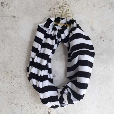 Infinity Scarf - Striped