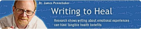 Writing to Heal: Research shows writing about emotional experiences can have tangible health benefits