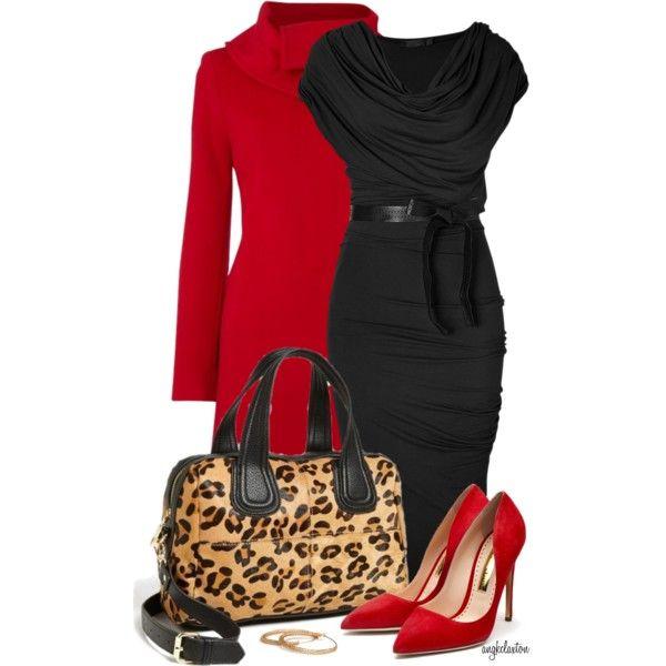 Donna Karan Dress and Bag
