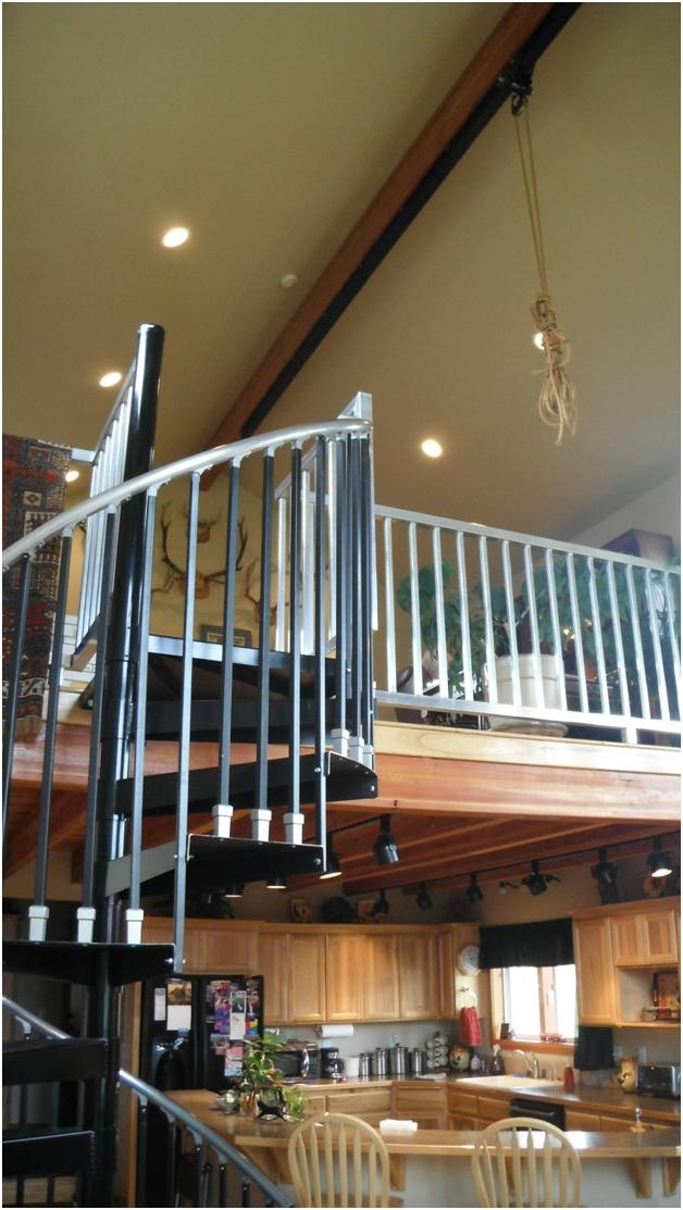 Rope Decor Pulley System For Lifting Furniture Into Loft