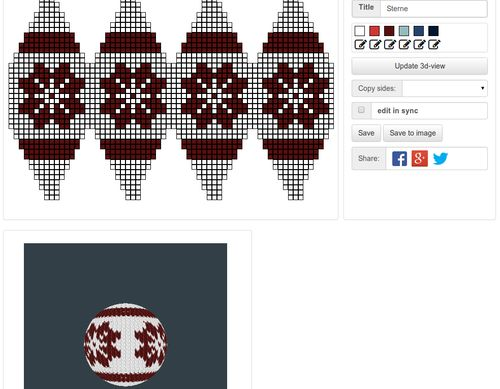 Designing Julekule, designing, design, pattern, knitted Christmas ball, Christmas, knitting, decoration, festive, ornament