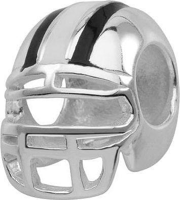 "Persona Sterling Silver ""Football Helmet"" Charm H12320P1"