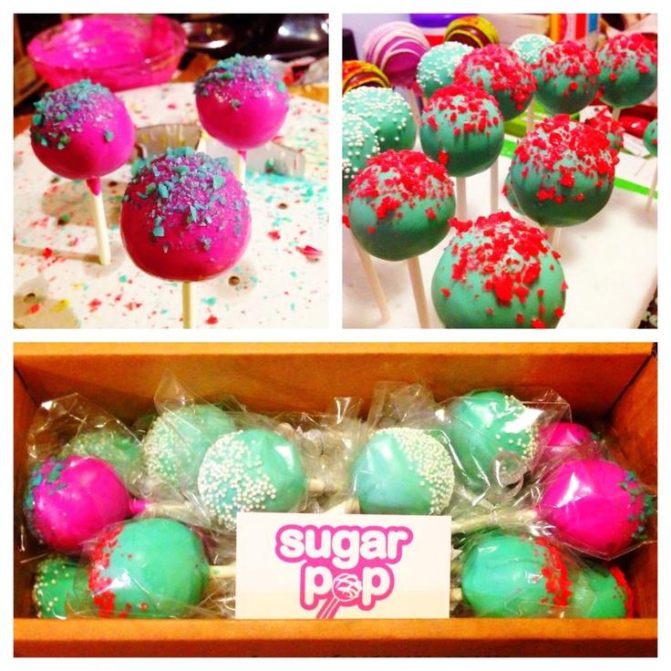 #poprocks #neon #cakepopattack #cakepop #baking #yum