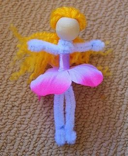 Pipe cleaner fairies