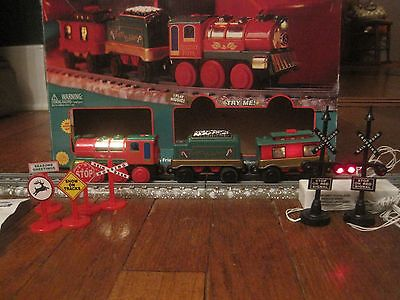 Musical Christmas Train Set