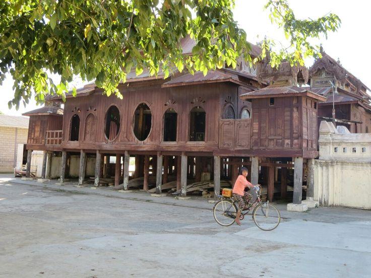 Shwe Yan Pyay monastery near Nyaung Shwe, Inle Lake, Myanmar