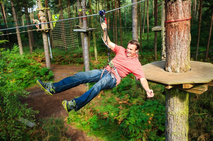 Go Ape is the UK's No.1 Forest Adventure.   Leap off our Tarzan Swing and tackle our crossings whilst enjoying some of Britain's most breathtaking scenery.  http://www.heartofdevon.com/things-to-do/go-ape-haldon-p520623
