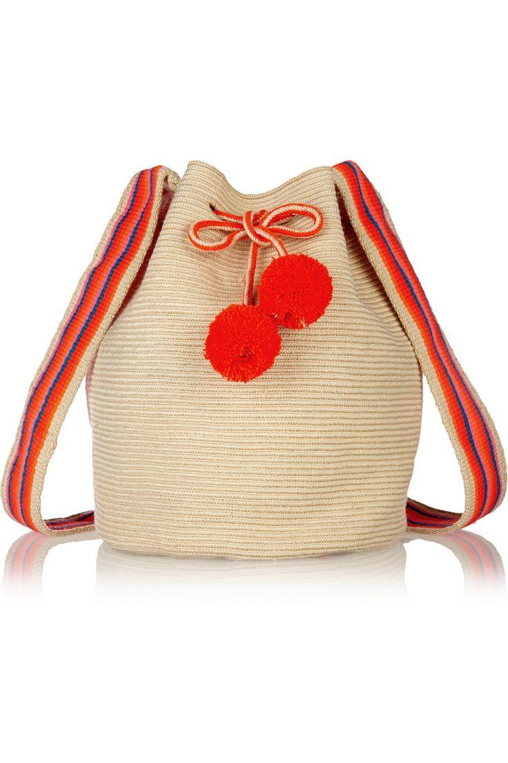 SOPHIE ANDERSON Lilia crocheted cotton shoulder bag €337.02