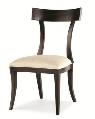 Contemporary klismos style chair chairs pinterest
