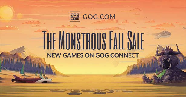 GOG Connect returns with 20 Games in Monstrous Fall Sale - https://wp.me/p7qsja-aMF, #Account, #Connect, #Games, #MonstrousFallSale, #Steam, #Witcher