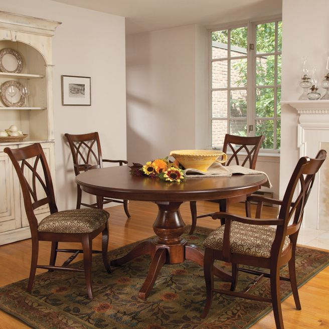 Pedestal Table Saloom Toms Price Furniture Rugs Design