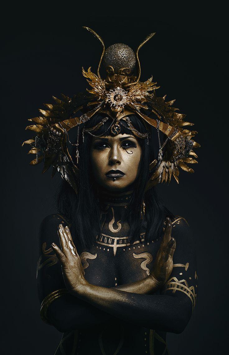 Photographer: Murderous Maria Makeup: Valentina Kuula – Making Hell Model: Nymphica