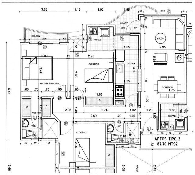 17 mejores ideas sobre planos arquitectonicos en pinterest for Que es un plano arquitectonico