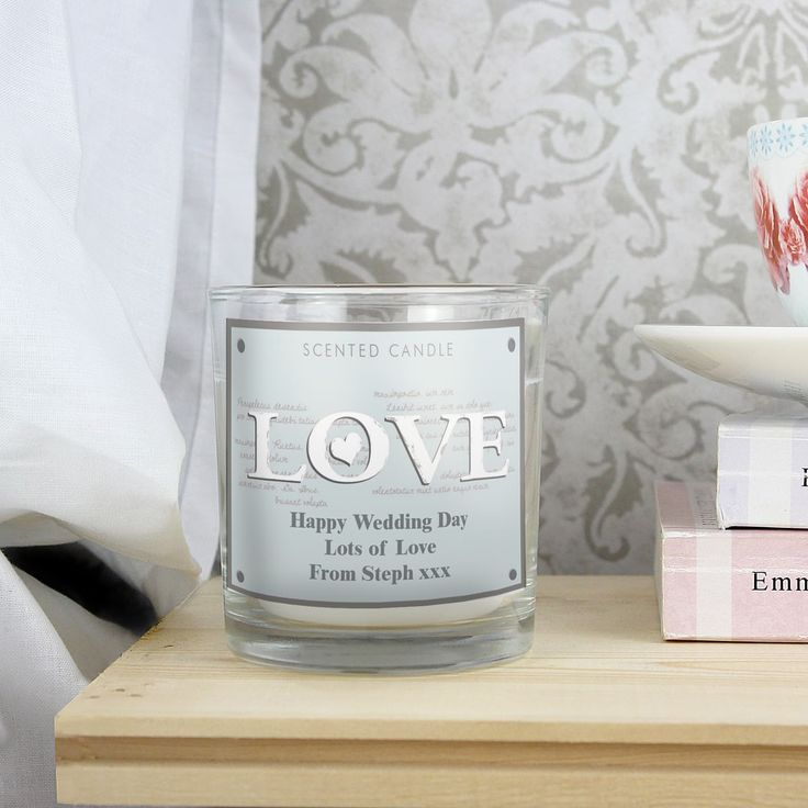 A beautiful, fragrant candle ideal for making any homes smell like heaven!