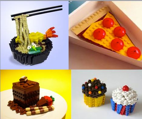 """Ok, not really """"crafty"""" per se, but totally freaking awesome lego food."""
