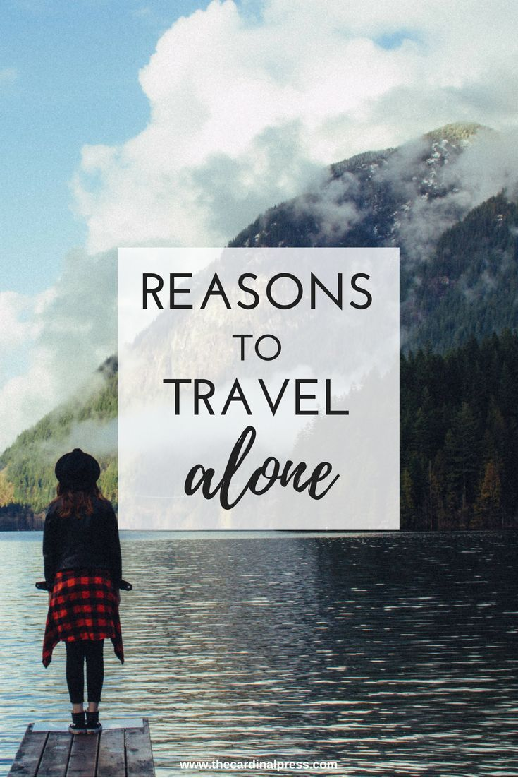 Have you ever been scared to travel alone? I definitely was! But I took the plunge and had the best time! Here are three reasons to travel alone