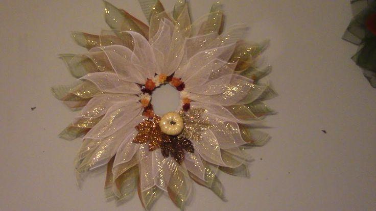 Carmen's Elegant Fall Wreath Using Only ZipTies