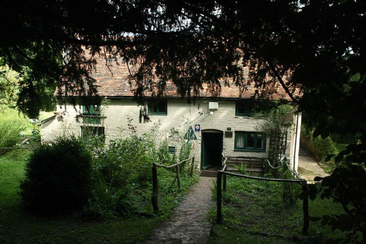 Unsere Lieblings-Jugendherberge in England. Tanner's Hatch.