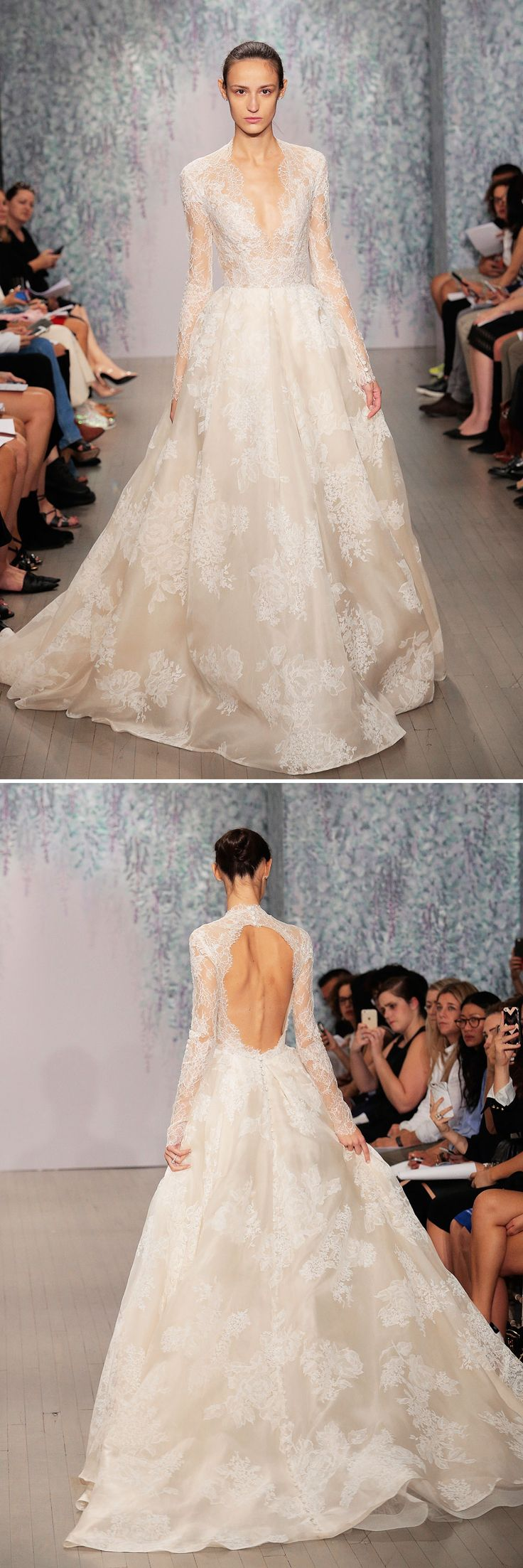 15 Wedding Gowns That Are Even More Gorgeous From the Back