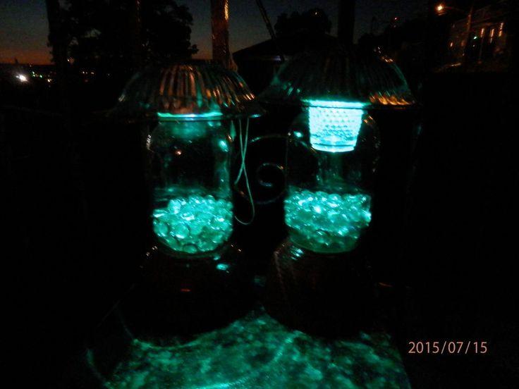 Superb DIY Solar Outdoor Table Lamp