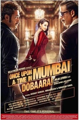 http://www.clickoncart.com/Once-Upon-A-Time-In-Mumbaai-Dobaara-DVD Once Upon A Time In Mumbaai - Dobaara! is a sequel to the 2010 movie Once Upon A Time In Mumbaai. Directed by Milan Luthria and produced by Ekta Kapoor and Shobha Kapoor this action/drama/romance movie is set amidst an active Mumbai-mafia scene.