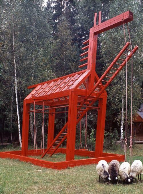 Red horse, Alexander Brodsky, Russia