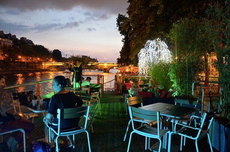 Le Willow   14 quai de l'hôtel de ville  75004 Paris Péniche/cadre idyllique/bons produits