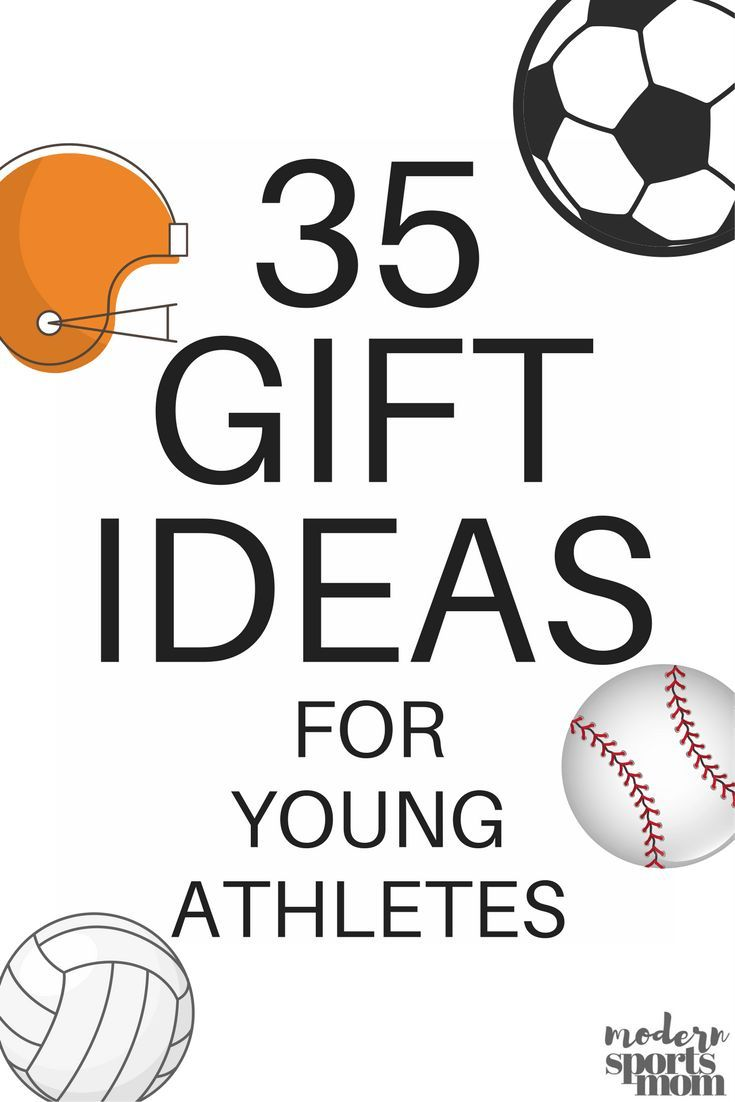 35 Gift Ideas for Young Athletes - A Holiday Gift Guide for baseball, basketball, soccer, hockey, soccer players, and all your athletes. Shopping made easy with this full list of holiday gift ideas for boys and girls!!