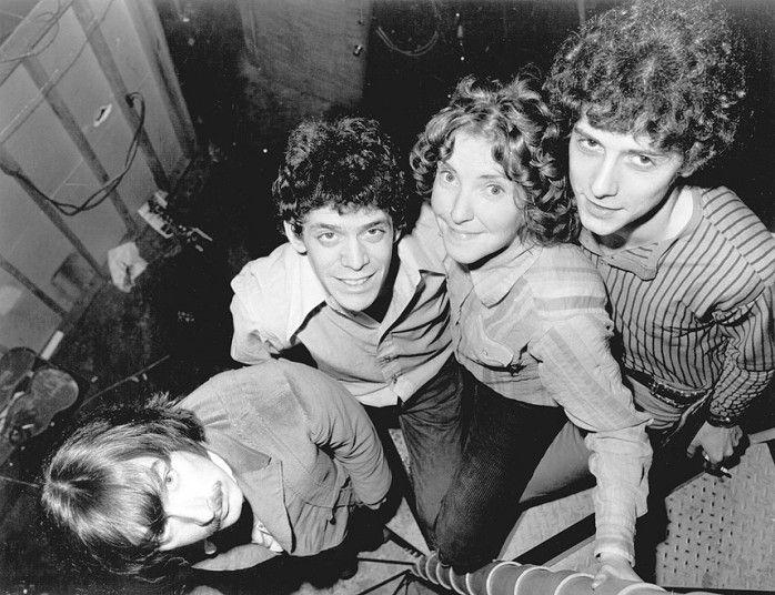 Velvet Underground (L-R) Sterling Morrison, Lou Reed, Maureen Moe Tucker and Doug Yule in 1970.