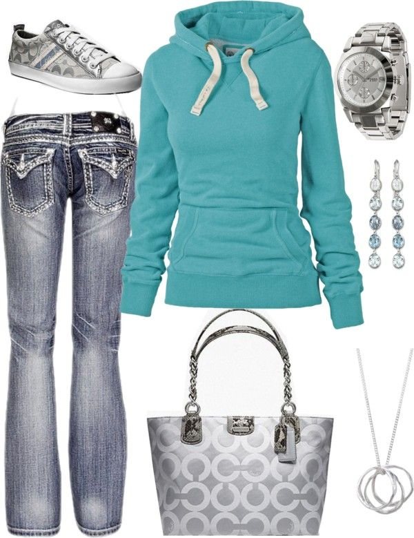 """Cute and Simple for a day of errands"" by chelseawate on Polyvore"