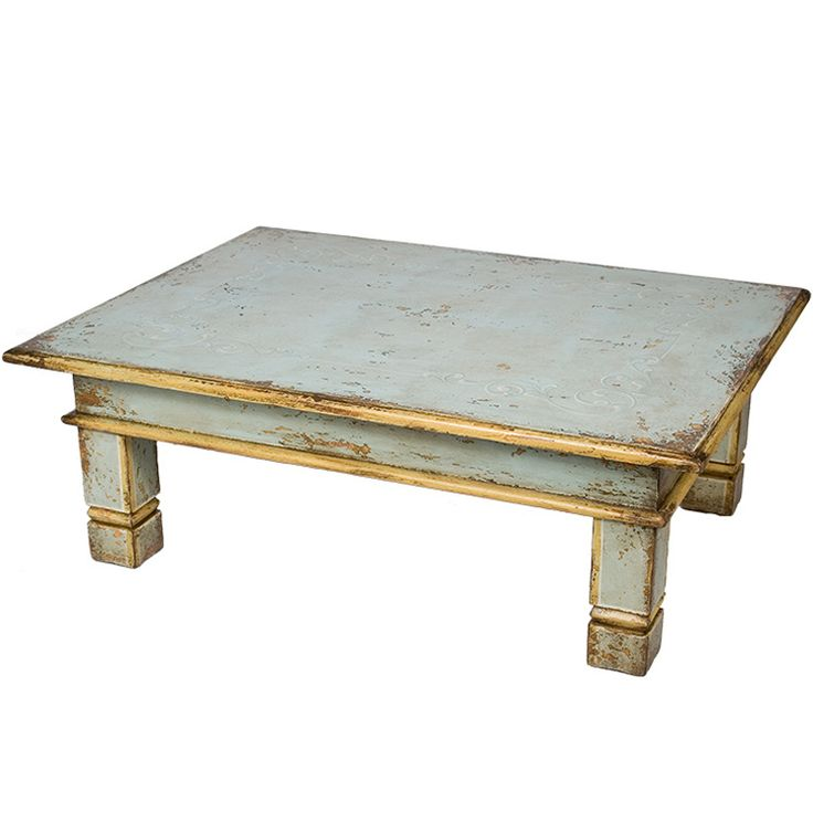 Distressed Blue Coffee Table: 26 Best Distressed Coffee Table Images On Pinterest