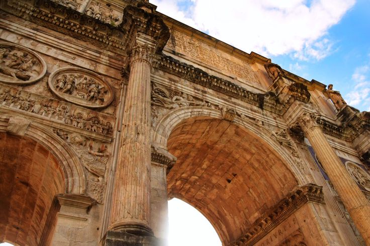 Arch of Constantine #architecture #rome #archofconstantine #italy #travel