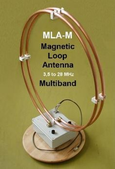 AIR - RADIORAMA: MLA-M Magnetic Loop Antenna – Multiband 3,5 a 28 MHz QRP