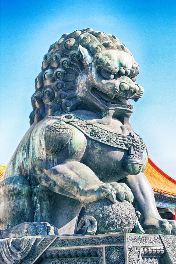 Guardian lions Almighty Foo Dog Pinterest