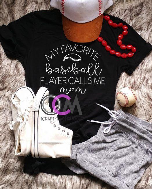e514e121 My Favorite Baseball Player Calls Me Mom Shirt, My Favorite Baseball Player  Shirt, Proud Baseball Mom Shirt, Baseball Mama T-Shirt, Baseball Mom Shirt-  ...