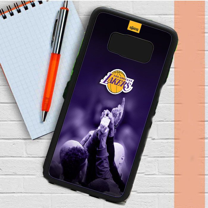 Lakers Wallpapers And Infographics Samsung Galaxy S8 Case Dewantary