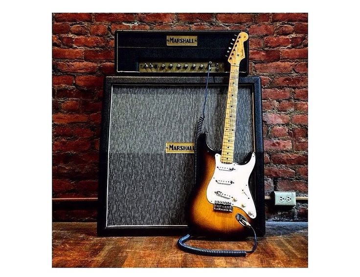 1954 Fender Stratocaster with a 1965 Marshall amp