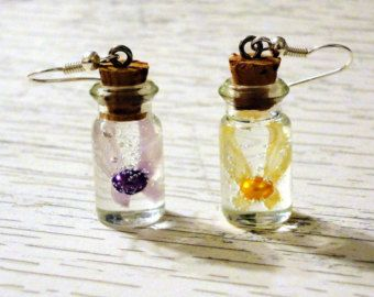 Legend of Zelda Fairy in a Bottle Charm Necklace by YellerCrakka