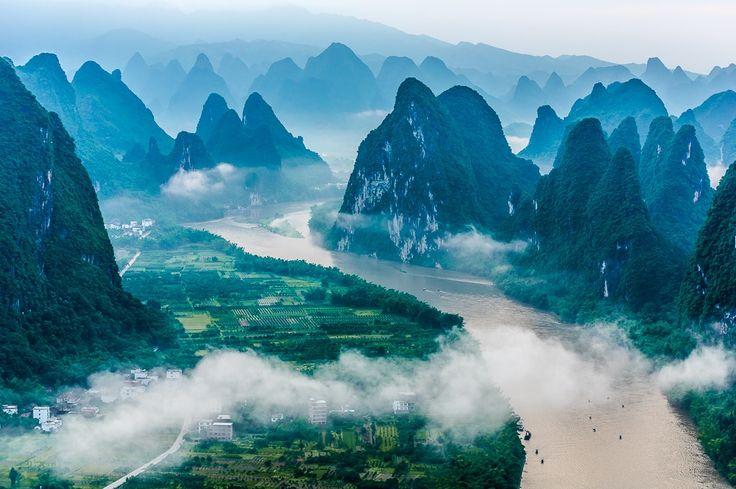 Фотография The Lijiang River автор HUA QIAO на 500px
